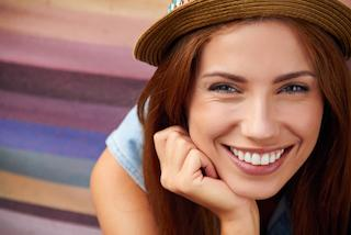 Girl Smiling with Veneers | southlands CO dentist