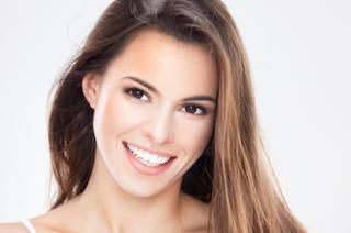 Woman smiling with veneers | Aurora CO