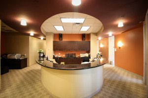 Uptown Comprehensive Dentistry and Prosthodontics | Wide view front office